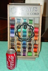Small Size Coats Table Top Spool Thread Cabinet 15488