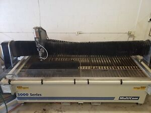 2013 Multicam M3 204w Cnc Waterjet Cutting Ref 7795543
