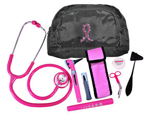 Pink Breast Cancer Combo Kit W Otoscope