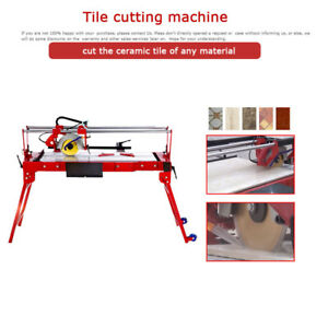 Desktop Electric Tile Cutter Ceramic Glass Cutting Tool 110v Cutting Machine