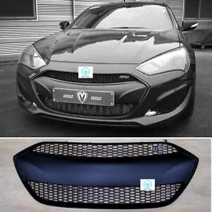 M S Matte Black Radiator Grille Replacement For Hyundai Genesis Coupe 2013 2016