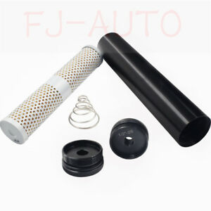 Black Low Profile Napa 4003 Wix 24003 Fuel Filter 1 2 28 1 2 Threaded End Cap