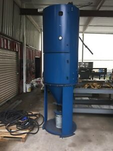 Donaldson Torit Dust Collector Vibra Shake Rvs 10 3 hp 3 phase Used Nice
