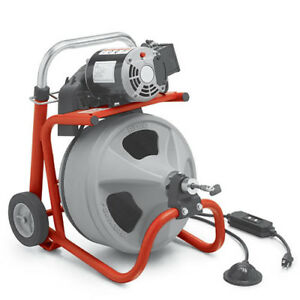 Ridgid 27003 K 400 1 3 Hp 115v Drum Machine With C 44