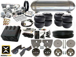 Complete Air Ride Suspension Kit 1963 1972 Chevrolet C10 Level 4 W Accuair