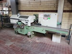 Weinig Profimat 22n 5 head Feed Through Wood Moulder Planer With Tooling