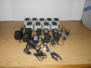 Lot Of 9 Welch Allyn 739 Series Cordless Illumination System Charger Base