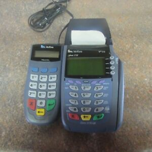 Verifone Vx510le 3730le Dial Credit Card Machine Pinpad 1000se g3
