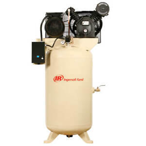 Ingersoll Rand 2475n5 v 575 volt 80 gallon 3 phase Air Compressor Value