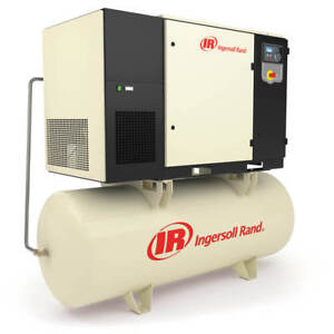 Ingersoll Rand Up6s 25 145 575v 120 gallon 3 phase 145 psi 25 hp Air Compressor