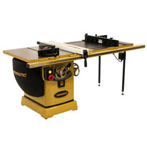 Powermatic Pm25350rk 230 460v 50 inch 5 Hp Rip Table Saw W Accu fence And Lift