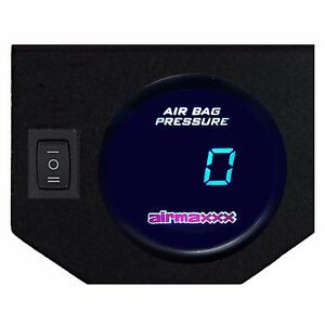 Digital Air Ride Gauge Display Panel 1 Switch 200psi Air Suspension System