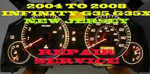 2004 2005 2006 2007 Infiniti G35 G35x Cluster Software Odometer Calibration