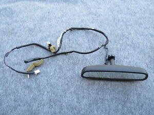 04 05 Nissan 350z Convertible Oem Interior Rear View Mirror W Wire Harness