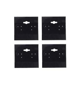 N ice Packaging 500 pcs 1 5 X 1 5 Black Hanging Earring Cards Jewelry Display