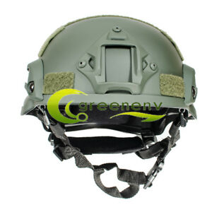 MICH2002 Outdoor Military Tactical Combat Helmet Riding Hunting Airsoft Sports