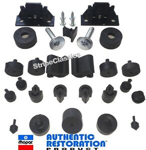 70 Challenger Body Bumper Kit W Hood Wedges Bolts Screws Mopar Authentic Resto