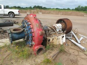 Parrish Dredge Pump 10x12 Sand Rock liguids mud