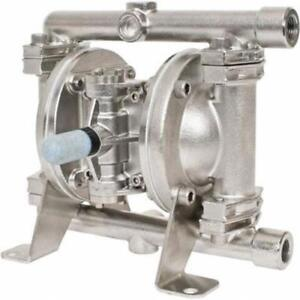 Blagdon Sandpiper 1 4 Stainless Steel Diaphragm Pump E02b4syssns000 Sst ptfe