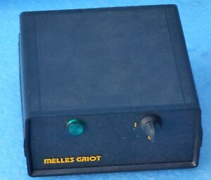 Melles Griot 25 lhp 073 249 Laser Power Supply