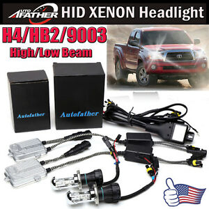 H4 Hid Kit Xenon Headlight Bulb High Low Beam 4300k 10000k 55w For Toyota Tacoma