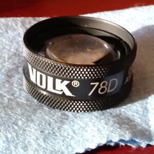 Volk 78d Double Aspheric Lens Used Only A Few Times No Blemishes Or Scratches