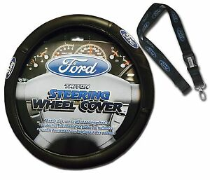 Ford Steering Wheel Cover W Lanyard