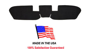1964 1966 Ford Mustang Dash Cover Black Carpet Fo32 5 Made In The Usa