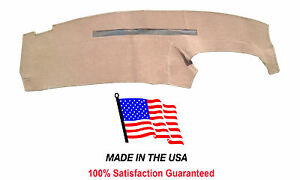 1995 1996 Chevy Pick Up C1500 Silverado Beige Carpet Dash Cover Mat Ch31 8