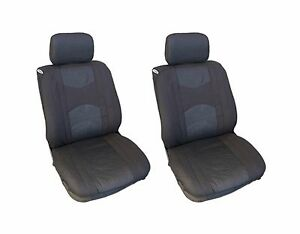 Fits Honda Automotive Car 4 Pc Mesh Black Seat Covers W Head Rest Covers