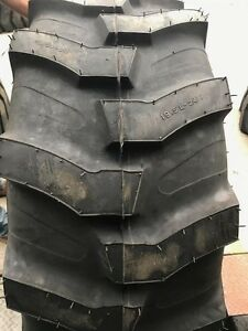 One New 19 5l 24 12 Ply Mrl Industrial Lug Tractor Loader Tire R4 Backhoe