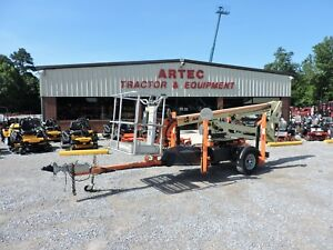 2013 Jlg T350 Towable Boom Lift Jlg 35 Reach Articulating Low Hours