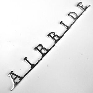 Airride Vw Script Badge For Vw Volkswagen Vw Splitscreen Cab Vw Air Ride Aac232