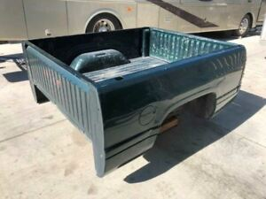 94 01 Dodge Ram 2500 3500 6 6 Green Short Bed Pickup Box W Tailgate