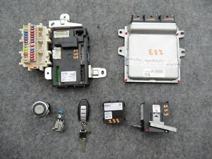 2008 Infiniti G37 S Coupe At Ecu Bcm Engine Computer Smart Key Door Lock Set