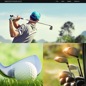 Golf Sports Internet Website Business For Sale Mens Womens Training Course