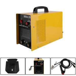 Portable Arc Welding Machine Igbt Inverter Auto Thermal Protection Welder Tool