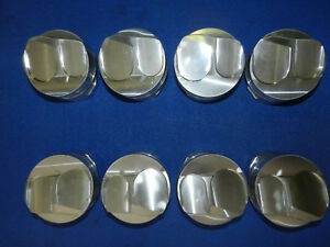 Bill Miller Bme Small Block Chevy Sbc Domed Forged Pistons 4 060 Bore