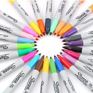 Permanent American Sanford Markers Sharpie Fine Point Permanent Marker 12 24