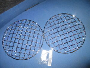 Oldtimer Vw Headlight Protection Grid Rally Beetle Bus T2 T3 Golf 18cm