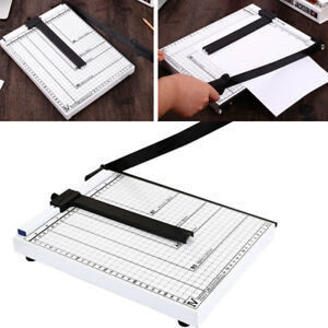 Heavy Duty Guillotine Paper Cutter 17 Commercial Metal base A4 Trimmer 100sheet