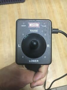 Western Plow Joystick Controller 4 Pin For Flet Flex V Plows