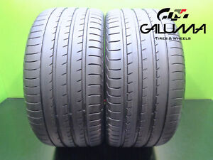 2 Excellent Yokohama Tires 295 35 21 Advansport V105 107y N2 Porsche Audi 46796