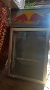 Red Bull Mini Fridge Brand New W stand Why Buy Someones Used Refrigerator
