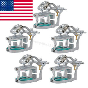 5 Adjustable Magnetic Articulator Dental Lab Equipment Dentist Full Teeth Model