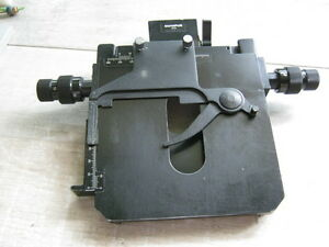 Olympus Bh sh Stage For Bhm Microscope