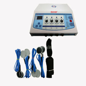 Portable Physiotherapy Electrotherapy 4channel Pain Relief Unit