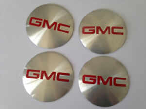 4pcs 56mm Gmc Wheel Center Hub Caps Emblem Decal Stickers