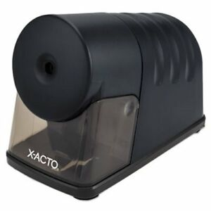 X acto Powerhouse Desktop Electric Pencil Sharpener Black epi1799