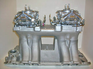 Quick Fuel Dual Quad Carburetor 850 Cfm 2x4 Mechanical Secondary Customized Free